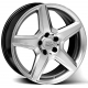 WSP Italy AMG III Budapest W731 6.5x15/5X112 D66.6 ET40 Hyper Silver