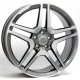 WSP Italy AMG Vesuvio W759 8x17/5X112 D66.6 ET47 Anthracite polished