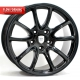 WSP Italy Corsair W1052 12x19/5X130 D71.6 ET51 Glossy black