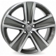 WSP Italy CROSS POLO W463 7x16/5X100 D57.1 ET46 Anthracite polished