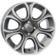 WSP Italy EVO W163 6x16/4X100 D56.6 ET45 Anthracite polished