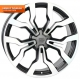 WSP Italy MEDEA W565 8.5x19/5X112 D66.6 ET32 Dull Black Polished