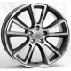 WSP Italy MOON W2504 8x18/5X110 D65.1 ET43 Anthracite polished