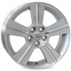 WSP Italy ORION W2703 6.5x16/5X100 D56.1 ET48 Silver Polished