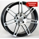 WSP Italy S8 COSMA TWO W557 7.5x17/5X112 D66.6 ET30 Black polished