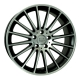 WSP Italy SHANGHAI W773 8.5x19/5X112 D66.6 ET44 Dull Black Full Polished