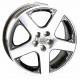 WSP Italy SORRENTO W430 7x16/5X100 D57.1 ET38 Anthracite polished