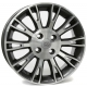 WSP Italy VALENCIA W150 6x15/4X100 D56.6 ET45 Anthracite polished