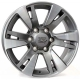 WSP Italy VENERE W1765 7.5x18/6X139.7 D106.1 ET25 Anthracite polished