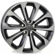 WSP Italy VULTURE W1855 6.5x17/5X114.3 D66.1 ET40 Anthracite polished
