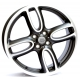 WSP Italy LIM. EDITION W1651 7x18/4X100 D56.1 ET52 Black polished