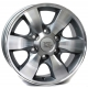 WSP Italy SAPPORO W1760 7x16/6X139.7 D106.1 ET30 Anthracite polished