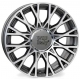 WSP Italy GRACE W162 6x15/5X098 D58.1 ET39 ANTHRACITE POLISHED