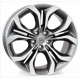 WSP Italy AURA W674 9x19/5X120 D74.1 ET37 Antracite Polished