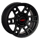 Zorat Wheels ZF-QC615 8x17/6x139.7 D108.1 ET15 Matt black