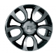 WSP Italy ERCOLANO W167 7x17/5x098 D58.1 ET41 GLOSSY BLACK POLISHED