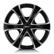 Alutec Dynamite 8.5x18/6x114.3 D66.1 ET20 diamond-black front polished