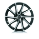 Alutec Singa 6x15/4x100 D60.1 ET40 diamond-black front polished