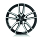 Rial Torino 7.5x17/5x114.3 D70.1 ET48 diamond-black front polished