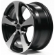 Borbet CC 8.5x19/5x130 D71.6 ET53 black polished matt