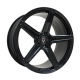 Replica Vissol F-505 10.5x21/5x120 D74.1 ET33 GLOSS-BLACK
