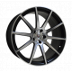 Vissol Forged F-190 10.5x21/5x120 D74.1 ET33 MATTE-BLACK-WITH-MATTE-POLISHED