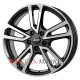 Alutec Tormenta 7.5x17/5x112 D66.6 ET36 diamond-black front polished