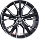 WSP Italy ALICUDI W571 8.5x20/5X112 D66.6 ET43 GLOSSY BLACK POLISHED