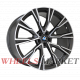 Replica B987 10.5x20/5x112 D66.6 ET40 MATTE-GRAPHITE-WITH-MATTE-POLISHED_FORGED