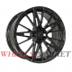 Vissol Forged F-1036 9x20/5x112 D66.5 ET26 GLOSS-BLACK