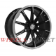 Replica MR1028 10.5x21/5x130 D84.1 ET24 GLOSS-BLACK-WHITH-MATTE-POLISHED_FORGED