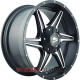 Buffalo BW-011 9x20/5x150 D110.1 ET38 Satin-Black_Machined