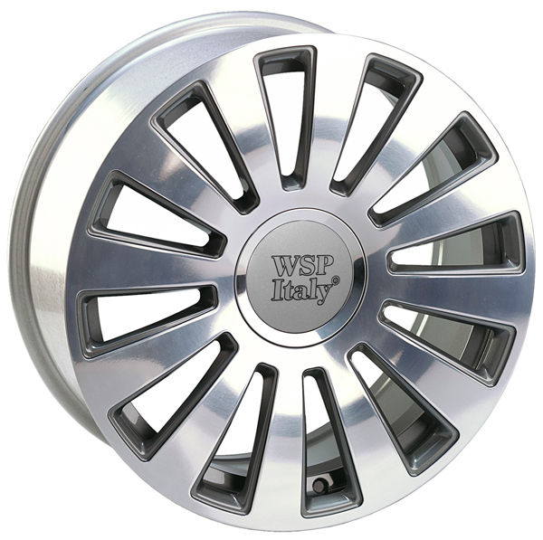 WSP Italy A8 RAMSES W535 8x20/5X100/112 D57.1 ET45 Anthracite polished
