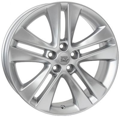 WSP Italy ASTRA W2507 7x17/5X115 D70.2 ET44 Hyper Silver