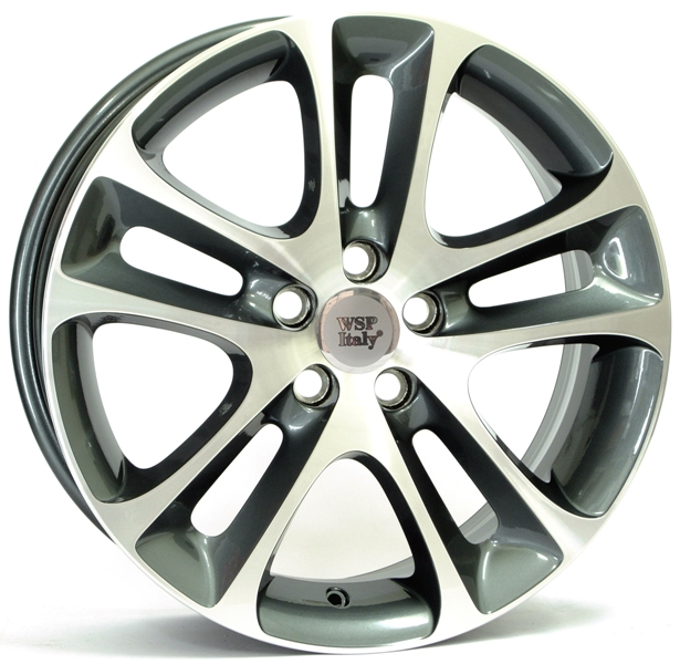 WSP Italy C30 NIGHT W1255 7.5x18/5x108 D65.1 ET52.5 Anthracite polished
