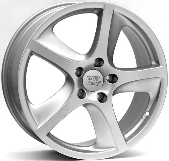 WSP Italy CAYENNE W1006 9x19/5X130 D71.6 ET60 Silver