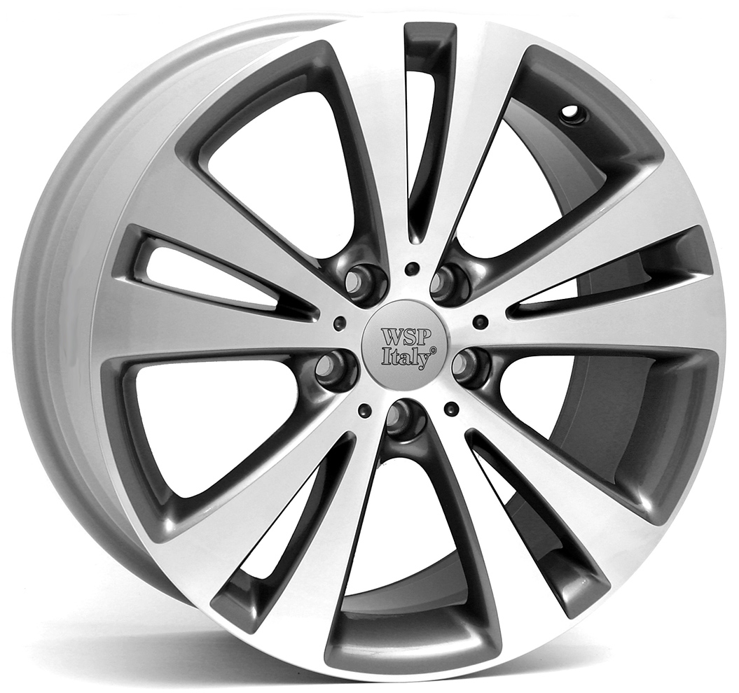 WSP Italy HAMAMET W445 7x16/5X112 D57.1 ET45 Anthracite polished