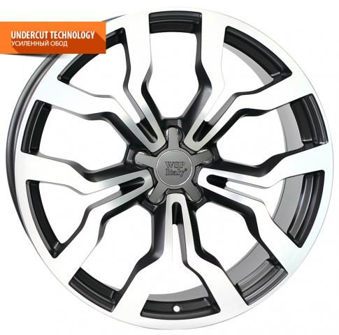 WSP Italy MEDEA W565 8.5x19/5X112 D57.1 ET42 Dull Black Polished