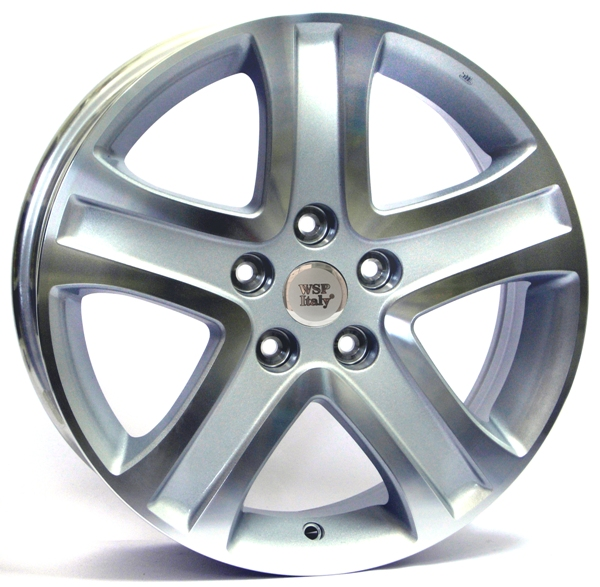 WSP Italy SIRIUS W2850 6.5x17/5X114.3 D60.1 ET45 Silver Polished