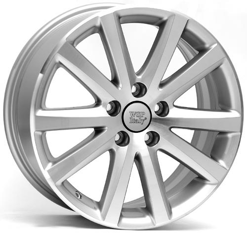 WSP Italy SPARTA W442 7x16/5X112 D57.1 ET42 Silver Polished