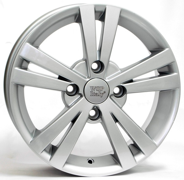 WSP Italy TRISTANO W3602 5.5x14/4X100 D56.6 ET44 Silver