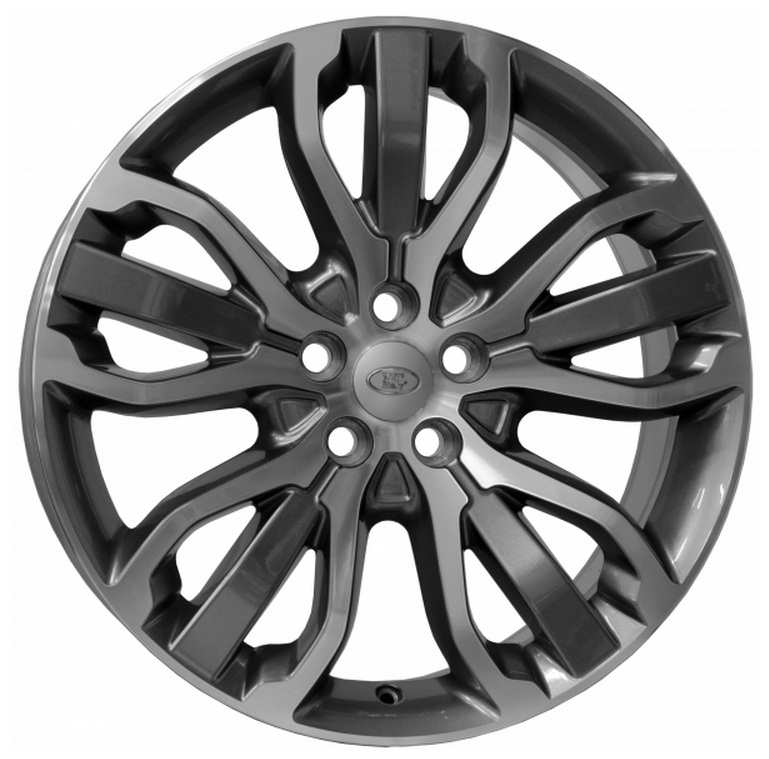 WSP Italy TRITONE W2358 8.5x20/5X120 D72.6 ET47 Anthracite polished