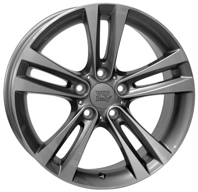 WSP Italy ZEUS W680 8.5x18/5X120 D72.6 ET47 Anthracite polished