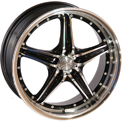 League 208 7x17/4x108 D73.1 ET40 FMBK