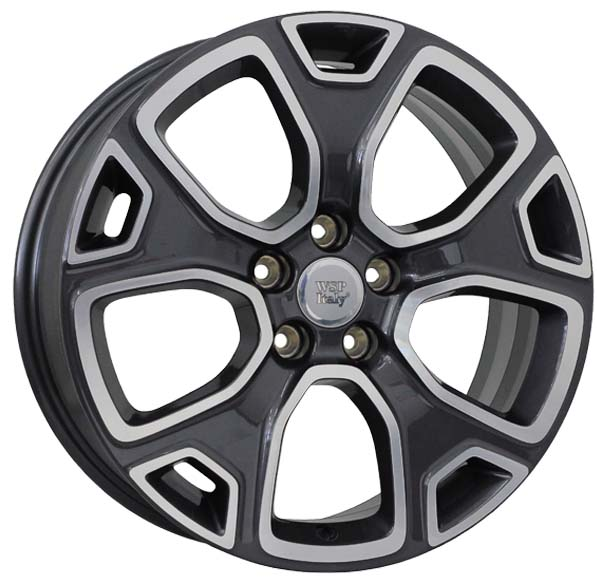 WSP Italy DETROIT W3804 7x18/5X110 D65.1 ET40 ANTHRACITE POLISHED