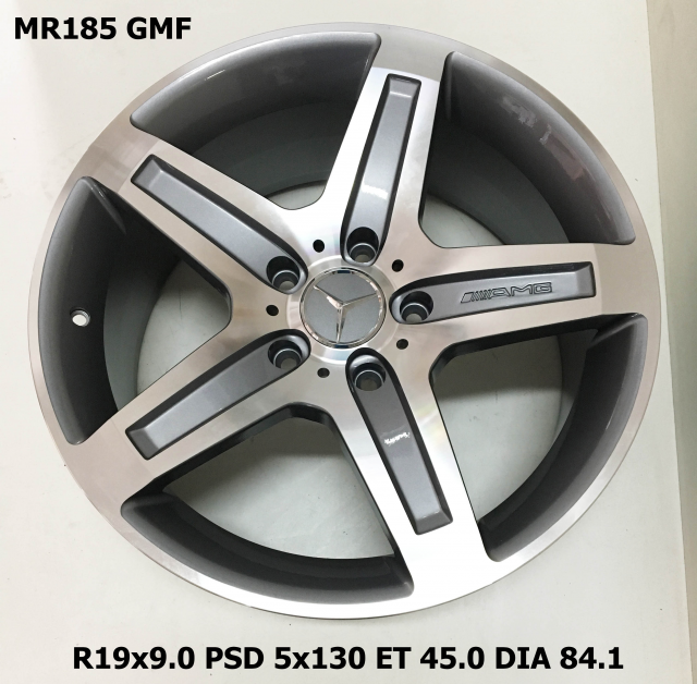 Replica MR185 9x19/5x130 D84.1 ET45 GMF