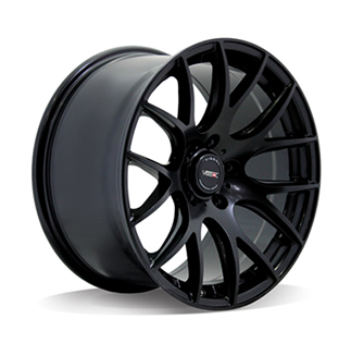 Replica Vissol V-001 8.5x18/5x120 D74.1 ET35 SATIN-BLACK