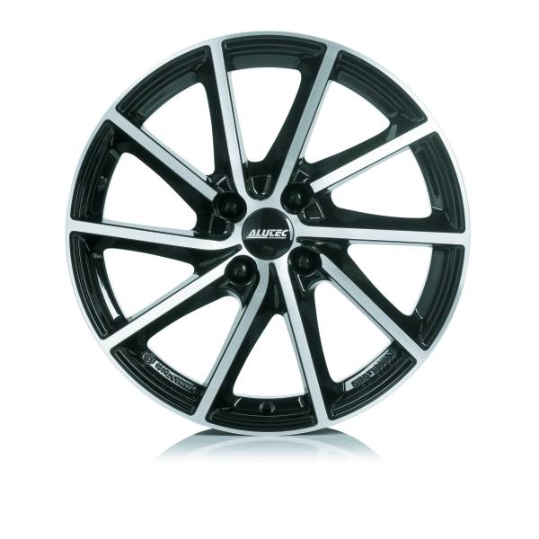 Alutec Singa 6x15/5x112 D57.1 ET43 diamond-black front polished