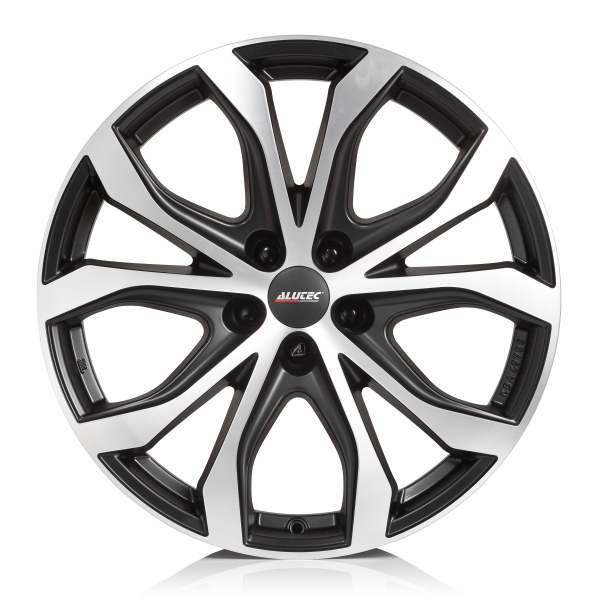 Alutec W10X 8x18/5x127 D71.6 ET53 racing-black front polished