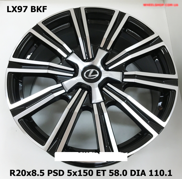 Replay LX97 8.5x20/5x150 D110.1 ET58 BKF